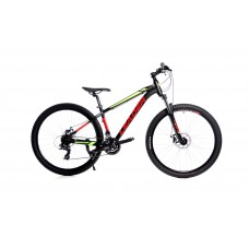 "Leader Agressor 27.5"" (Black/Green)"